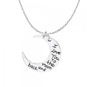 moonketting; i love you to the moon and back