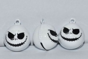 3 Nightmare Before Christmas Jack belletjes